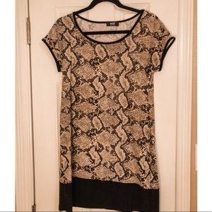 MSK Snake Dress